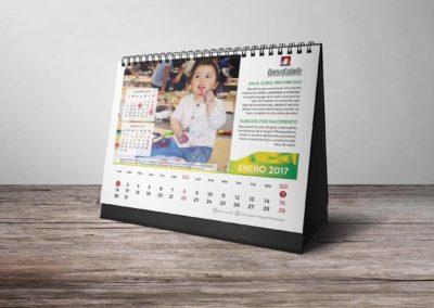 Calendario Banco Estado 2