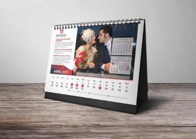 Calendario Banco Estado 4