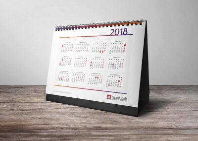 Calendario Banco Estado 6
